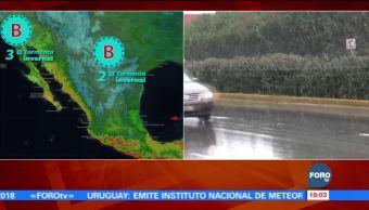 Tormenta invernal mantiene lluvias ligeras en Coahuila