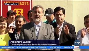 Alejandro Guiller se siente optimista por elecciones en Chile