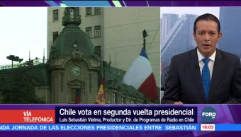 Piñera lidera votación con 25.96% de mesas escrutadas en Chile