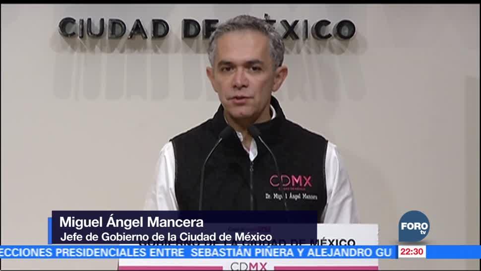 Mancera vigilará la construcción de la coalición 'Por México al Frente'