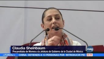 Sheinbaum visita la delegación Gustavo A. Madero