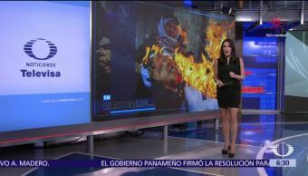 Las noticias, con Danielle Dithurbide: Programa del 18 de diciembre del 2017