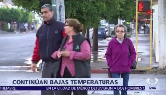 Nevadas, aguanieve y lluvia con granizo afectan al norte de México