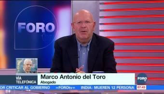 Marco Antonio del Toro: Hay inconsistencias las acusaciones contra Elba Esther Gordillo