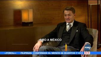 Mayordomo real visita México