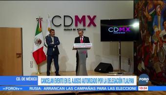 CDMX investigará fiesta autorizada por delegación Tlalpan en el Ajusco