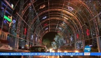 Ejército celebra la Navidad sobre avenida Lomas de Sotelo