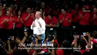 Meade pide antidoping para todos los precandidatos
