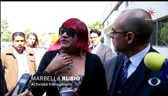 Transgénero piden al INE garantía de voto