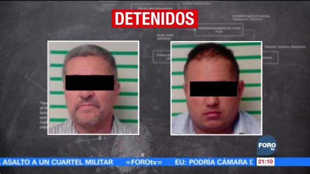 Detienen a hombres que robaron a empleados y alumnos de escuela