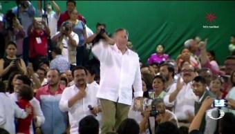 José Antonio Meade hace precampaña en Yucatán