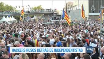 Rusia utilizó hackers a favor de independentistas catalanes