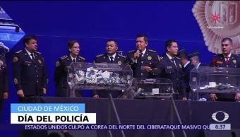 Adelantan festejo del Día del Policía en la CDMX