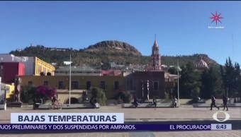 Remanentes del frente frío 17 mantienen bajas temperaturas al norte de México