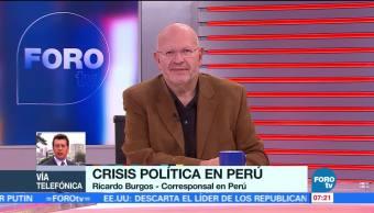 La crisis política en Perú