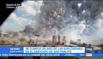 Se cumple un año de las explosiones en el mercado de San Pablito