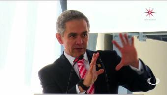 Mancera compara a Maluma con su intención de llegar a la Presidencia