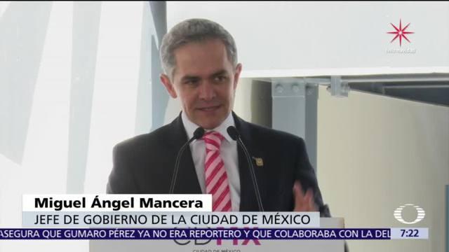 Mancera compara la Presidencia de México con Maluma