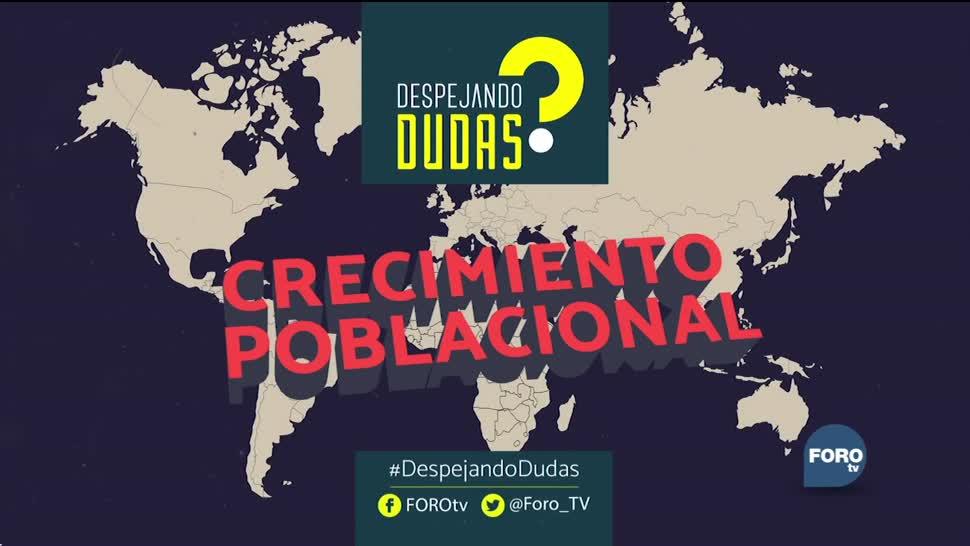 #DespejandoDudas: Crecimiento poblacional