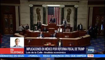 Luis de la Calle explica por qué Reforma fiscal debilita al peso