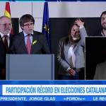 Independistas triunfan en elecciones de Cataluña