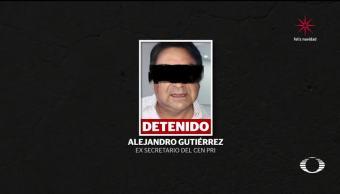 Realizan audiencia de Alejandro Gutiérrez, por presunto desvío de recursos