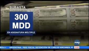 Banxico subastará 300 mdd en coberturas cambiarias