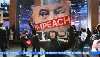 Impeachment, única vía para investigar a Trump ante acusaciones de acoso sexual