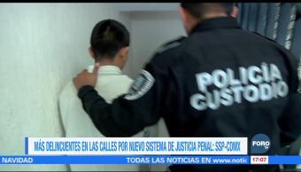 Nuevo Sistema de Justicia Penal permite que delincuentes sean liberados