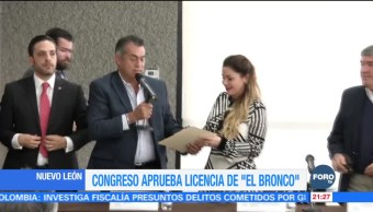 Congreso aprueba licencia de 'El Bronco'