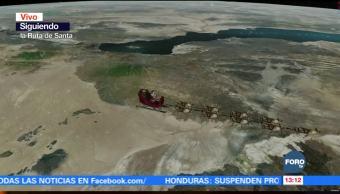 Siguiendo la ruta de Santa Claus