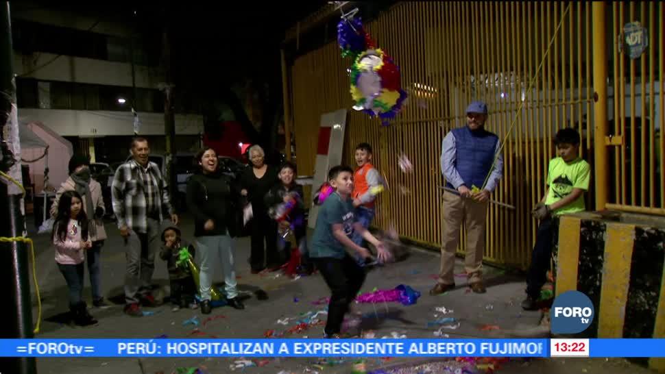 Familias afectadas por sismo del 19S celebran posada