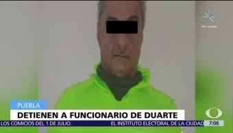 Detienen en Atlixco al exsecretario de Salud de Veracruz, Juan Antonio Nemi