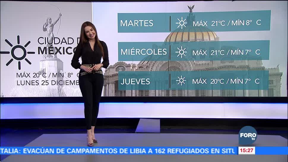 El clima con Mayte El Clima 'A las Tres' con Mayte Carranco
