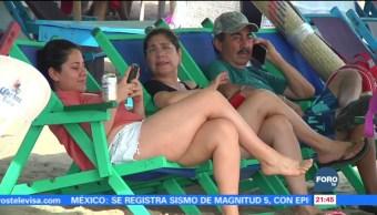 Alta ocupación hotelera en Manzanillo Colima