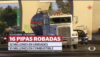 Huachicoleros continúan con la comercialización de combustible