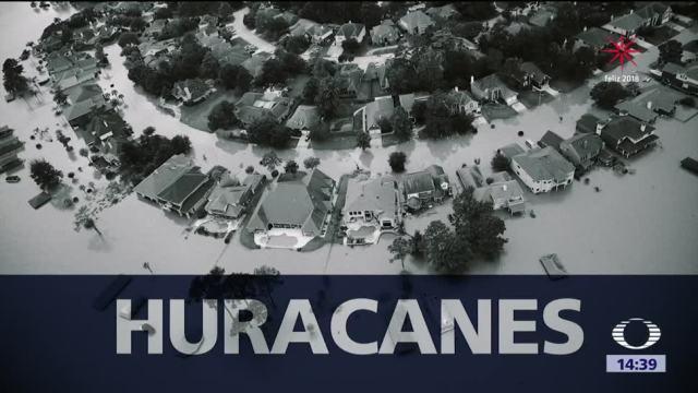 2017 fue el tercer año con más huracanes en el Atlántico