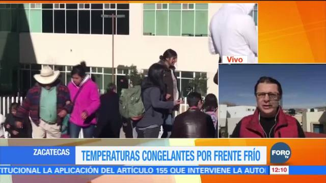 Intensifican campaña de vacunación contra la influenza en Zacatecas