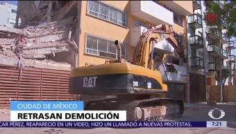 Se retrasa demolición de inmueble afectado tras sismo en Escocia 10