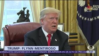Defensa de Donald Trump acusará a Michael Flynn de mentir