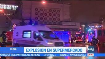 Ataque terrorista en San Petersburgo deja 13 heridos