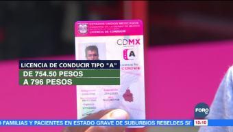 Ciudad de México tendrá aumento en impuestos y servicios
