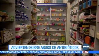 Advierten sobre abuso de antibióticos en invierno