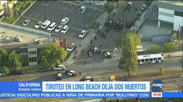 Tiroteo en Long Beach deja dos muertos