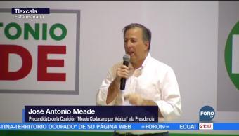 El país necesita certeza: Meade