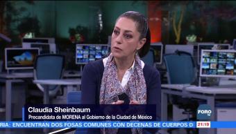 Mayor formación de la Policía: Claudia Sheinbaum