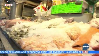 Mercado de San Juan vende productos para cena de Año Nuevo