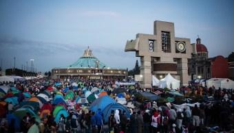 Peregrinos dejan 1.2 toneladas de basura tras su visita a la Basílica