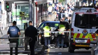 atropello melbourne australia es acto deliberado policia