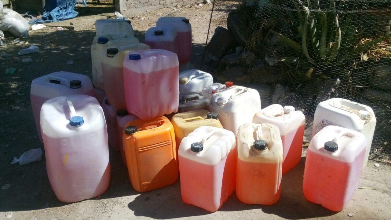 Aseguran más de 71 mil litros de combustible robado en Puebla